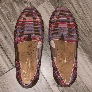 Tom's Hurachi Flats. Size 6.5. EUC